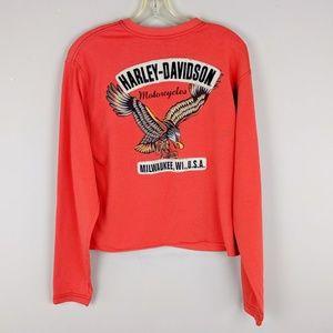 Harley-Davidson | Orange Eagle Graphic Top